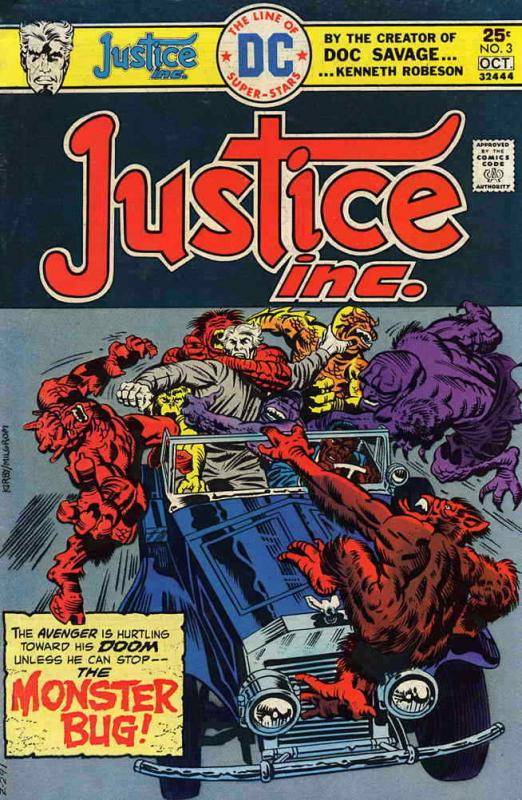 Justice, Inc. #3 FN; DC | save on shipping - details inside
