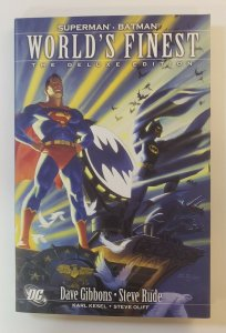 WORLDS FINEST THE DELUXE EDITION HARD COVER GRAPHIC NOVEL NM