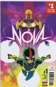 Nova Vol 7 #1 Cover A 1st Print 2016 ORIGINAL Vintage Marvel Comics Ramon Perez