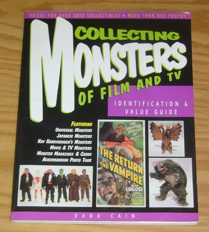 Collecting Monsters of Film and TV SC FN dana cain price guide universal monster