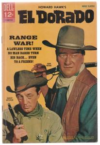 Movie Classic El Dorado #12-240-710 (Jan-56) VF/NM High-Grade John Wayne, Rob...