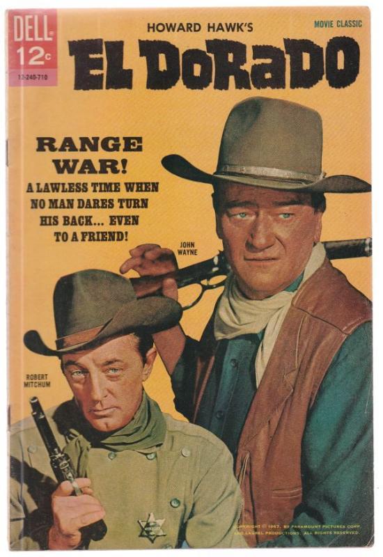 Movie Classic El Dorado #12-240-710 (Jan-56) VF/NM High-Grade John Wayne, Rob...