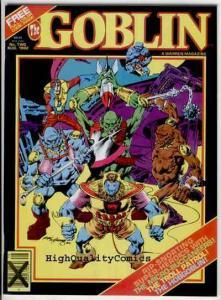 GOBLIN #2, VF+/NM, Warren, Tin Man, 1st HobGoblin, Gremlin, 1982,Troll,Bermejo