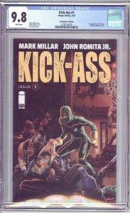 KICK-ASS #1 CGC 9.8 NM/MINT Single Highest Variant - 1st Appearance New Kick-ASS