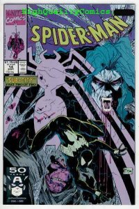 SPIDER-MAN #14, NM+, Todd McFarlane, 1990, Morbius the Vampire, more in store