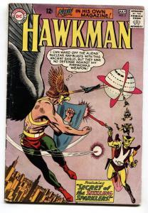 HAWKMAN #2-1964-DC-comic book-HAWKGIRL-vg