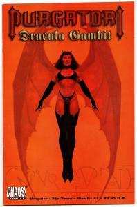 Purgatori: Dracula Gambit #1 (Chaos, 1997) NM