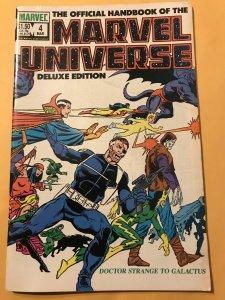 The Official Handbook of the Marvel Universe #4 : Vol. 2 1985: Dr. Strange - Gal