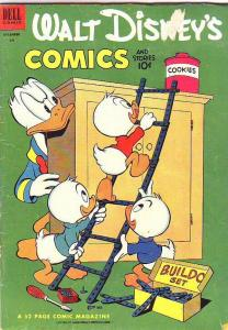 Comics and Stories, Walt Disney's #147 (Dec-52) VG/FN Mid-Grade Donald Duck, ...