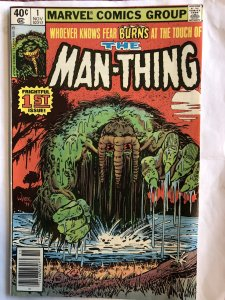 The Man-Thing # 1, VG, 2nd appearance of Howard the Duck!