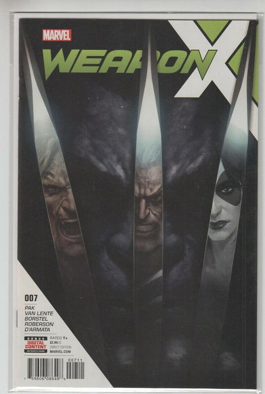 WEAPON X (2017 MARVEL) #7 NM- A99344