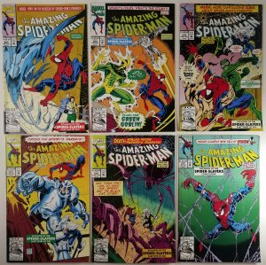 Amazing Spider-Man Invasion Of The Spider Slayers 368, 369, 370, 371, 372 to 373