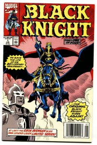 Black Knight #1 1990 Marvel-1st issue-Rides Again-Capt America-NM-