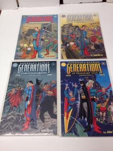 Generations Imaginary Tale 1-4 Full Run Near Mint NM Batman Superman