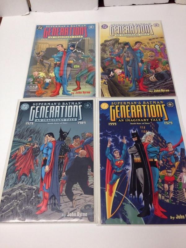 Generations Imaginary Tale 1-4 Full Run Near Mint NM Batman Superman