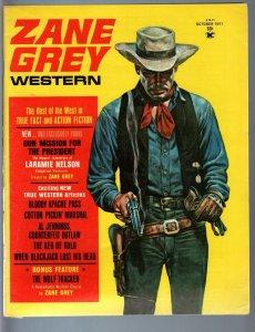 ZANE GREY WESTERN 1971 OCT-TWOLF TRACKER-LARAMIE NELSON FN/VF