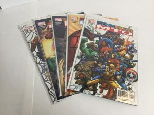 Marvel Team-Up 1-5 Lot Set Run Nm Near Mint Marvel Comics A40
