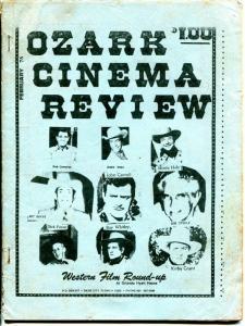 Ozark Cinema Review 2/1976-film memorabilia fanzine-Buster Keaton-G
