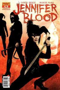 Jennifer Blood #4, NM- (Stock photo)