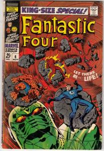 Fantastic Four King-Size Special #6 (Nov-68) VG/FN- Mid-Grade Fantastic Four,...