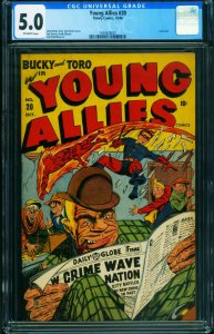 Young Allies #20 1946 CGC 5.0-Timely-Rare LAST ISSUE 1444626001