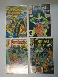Fantastic Four lot 4 Hulk & She-Hulk battles and appearances (1976-1988)