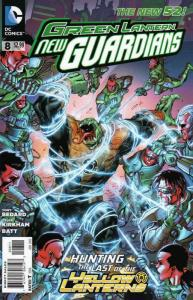 Green Lantern: New Guardians #8 VF/NM; DC | save on shipping - details inside