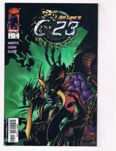 C-23 (1998) #7 Image Comic Book Jim Lee Wizards of the Coast HH4 AD38