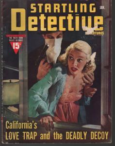 Startling Detective 1/1940-Fawcett-lingerie-drug mob-love trap-manhunter-P