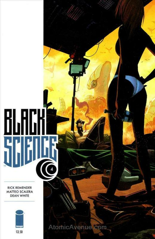 Black Science #4 VF/NM; Image | save on shipping - details inside