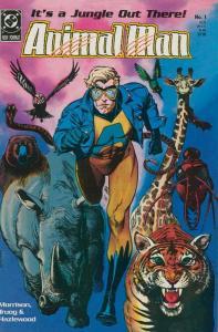 Animal Man #1 FN; DC | save on shipping - details inside