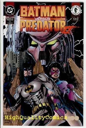 BATMAN vs PREDATOR II #1, NM+, Huntress, 1994, Bloodmatch, more BM in store