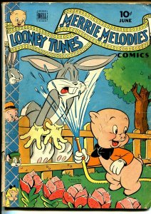 Looney Tunes #44 1945-Dell-Bugs Bunny-Porky Pig-G/VG