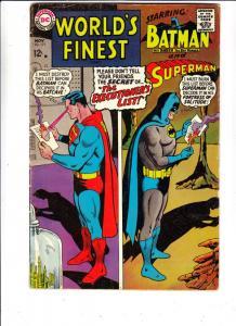 World's Finest #171 (Nov-67) VG/FN+ Mid-Grade Superman, Batman, Robin