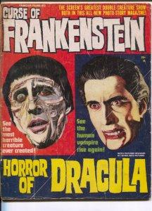 Curse Of Frankenstein #2 1964-Warren-Famous Films #2-Horror of Dracula-Joe Or...