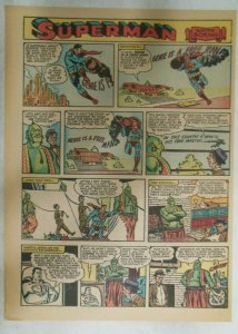 Superman Sunday Page #921 by Wayne Boring from 6/23/1957 Size ~11 x 15 inches