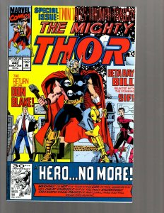 12 Thor Marvel Comics #442 443 444 445 446 447 448 449 450 451 452 +341 GK39