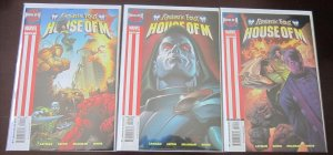 Fantastic Four House of M comics set:#1-3 6.0 FN (2005)