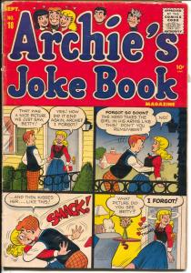 Archie's Joke Book #18 1955-Betty-Veronica-Bob Montana-Jughead-Moose-VG
