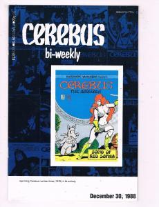 Lot Of 7 Cerebus Bi-Weekly Aardvark Vanaheim Comic Books # 3 5 6 7 8 9 10 AD27
