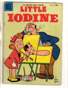 Little Iodine # 34 FN- Dell Comic Book Jimmy Hatlo Cartoon Series JL11