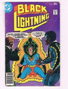 Black Lightning #3 FN DC Comics Comic Book Superman DE19