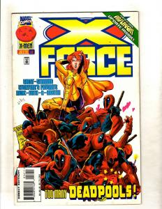 Lot Of 12 X-Force Marvel Comic Books # 56 57 58 59 60 61 62 64 65 66 67 68 J360
