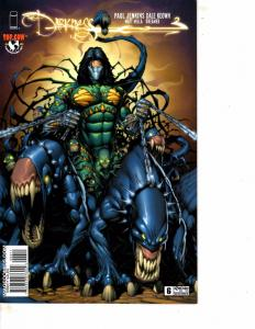 Lot Of 2 Comic Books Image Darkness #6 and Comic Day 2007 Previews #1  MS17