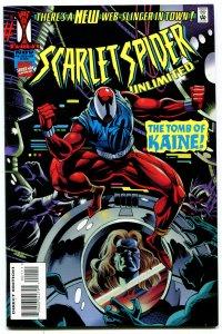 Scarlet Spider Unlimited #1 (8,5-9.0) 1995 Modern Age Marvel ID105H