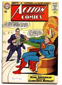 ACTION COMICS #312 comic book 1964-King Superman-Supergirl VF-