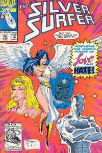 Silver Surfer (1987 series) #66, NM (Stock photo)