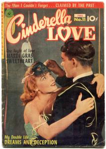 CINDERELLA LOVE #11 1951-PHOTO COVER-ROMANCE-ZIFF DAVIS VG