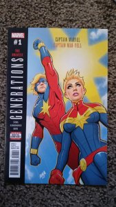 Generations: Captain Marvel & Captain Mar-vell #1 (2017) MM