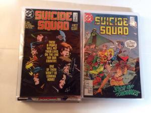 Suicide Squad 1-4 10 17-26 28-34 Near Mint Lot Set Run